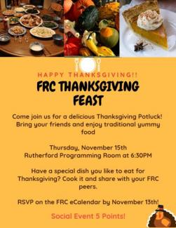 Thanksgiving Feast 11.15