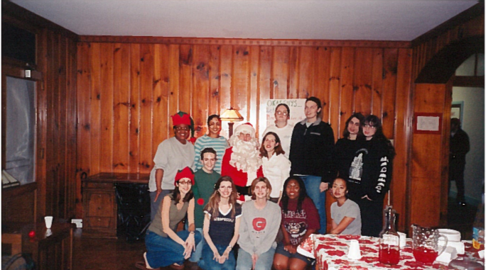 FRC Christmas Party in the early 2000s