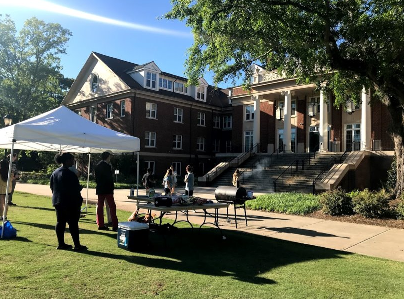 FRC cookout on Myers Quad