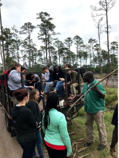 Hog Hammock service learning at Sapelo