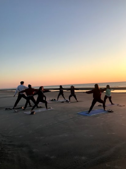FRC Sunrise Yoga at Sapelo