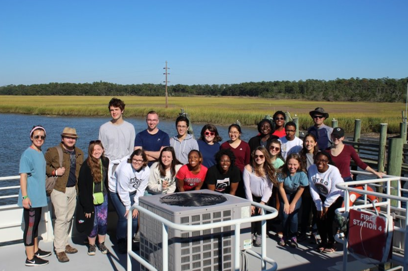 FRC group shot: 2018 Sapelo trip