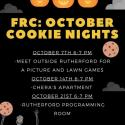 October Cookie Nights Poster